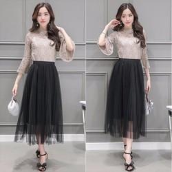 Áo Và Chân Váy Maxi