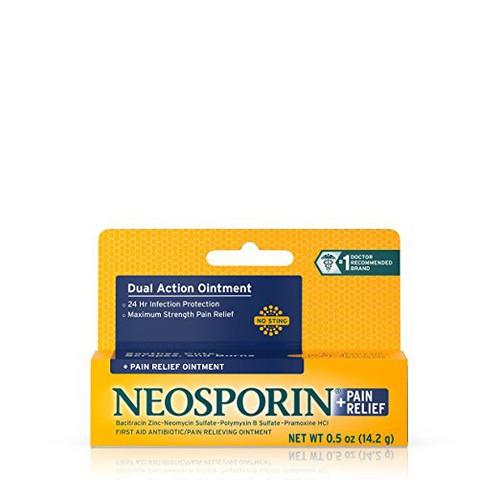 Kem mỡ giảm đau, trị phỏng NEOSPORIN 14.2g