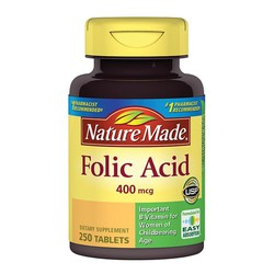 SẢN PHẨM BỔ SUNG VITAMIN - NATURE MADE FOLIC ACID