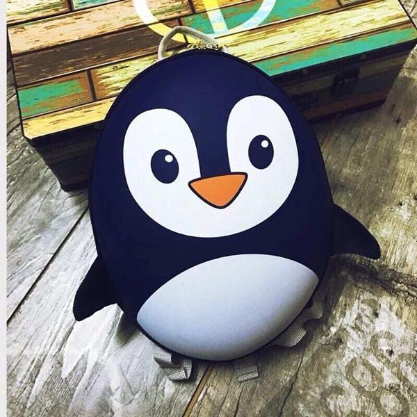 Balo chim cánh cụt đáng yêu cho bé 13