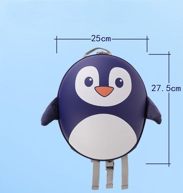 Balo chim cánh cụt đáng yêu cho bé 7