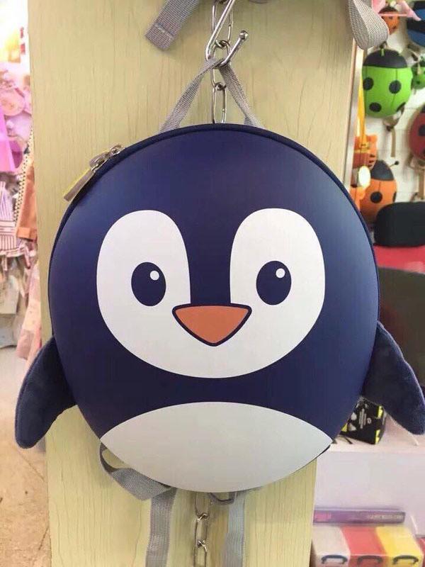 Balo chim cánh cụt đáng yêu cho bé 16