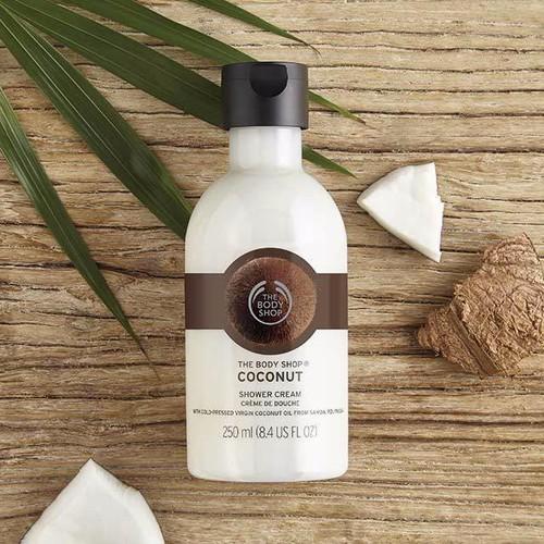 Sữa tắm organic hương dừa tbs