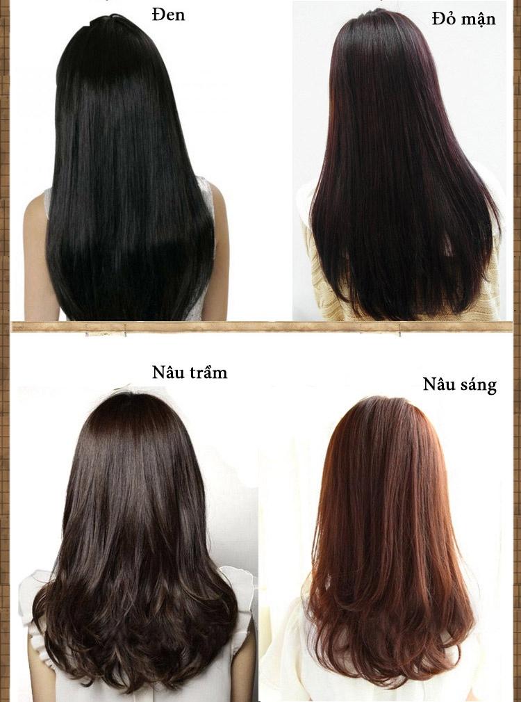 Lược nhuộm tóc thông minh 7