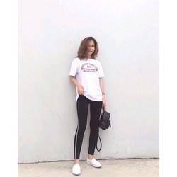 QUẦN LEGGING SỌC 2 VIỀN
