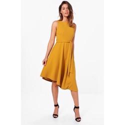 Đầm váy liền đuôi cắt vát thướt tha kèm nơ sỉ lẻ phù hợp 48-54kg