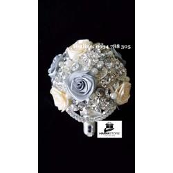 Hoa cưới trang sức cao cấp - DB - 01