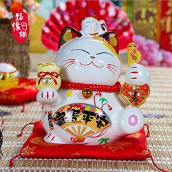 Maneki Neko - biểu tượng của sự may mắn của người Nhật.