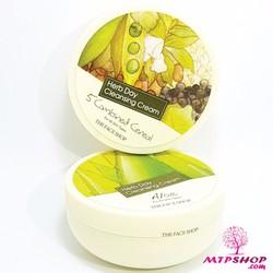 Kem tẩy trang Herb Day 365 Cleansing Cream TFS