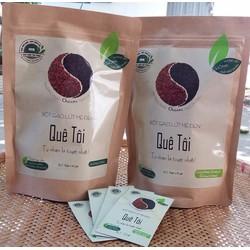 Bột gạo lứt mè đen nguyên chất lợi sữa - Ngũ cốc quê tôi - Túi 220g