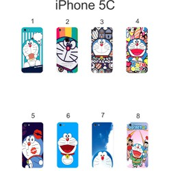 Ốp lưng iPhone 5C dẻo in hình Doraemon