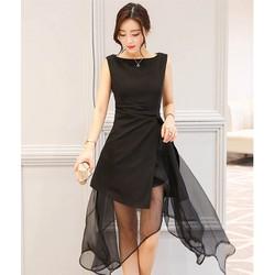 Đầm xòe cách điệu - đầm thiết kế  - đầm váy dự tiệc