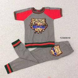Set áo thun  kim sa quần dài hàng thiết kế - MS: S230858 Gs: 165k