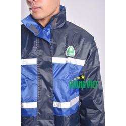 Bộ áo mưa chống lạnh 2 lớp phản quang