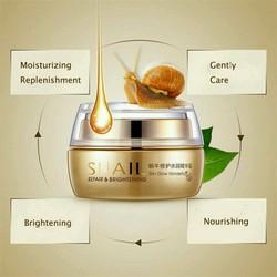 Kem dưỡng và tái tạo da Bioqua Snail cream