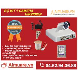 Combo Hệ Thống 1 Camera Hikvision Chính Hãng Tự Lắp Đặt - AMR41