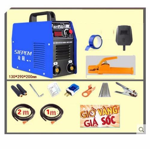 máy hàn zx7 250A có dây mát 1m dây hàn 2m - 5206513 , 11503611 , 15_11503611 , 1190000 , may-han-zx7-250A-co-day-mat-1m-day-han-2m-15_11503611 , sendo.vn , máy hàn zx7 250A có dây mát 1m dây hàn 2m