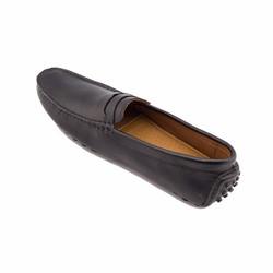 Giày nam cao cấp Santomoni da trơn màu nâu ST045