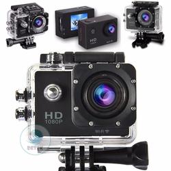 Camera hành động chống nước FullHD 1080P - Đen