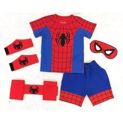 bộ sưu tập quần áo người nhện cho bé trai