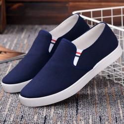 Giày lười nam cơ bản màu xanh navy