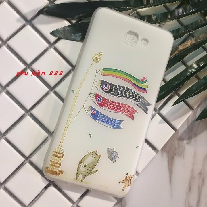 Ốp lưng dẻo Samsung Galaxy J5 Prime lồng đèn cá 1