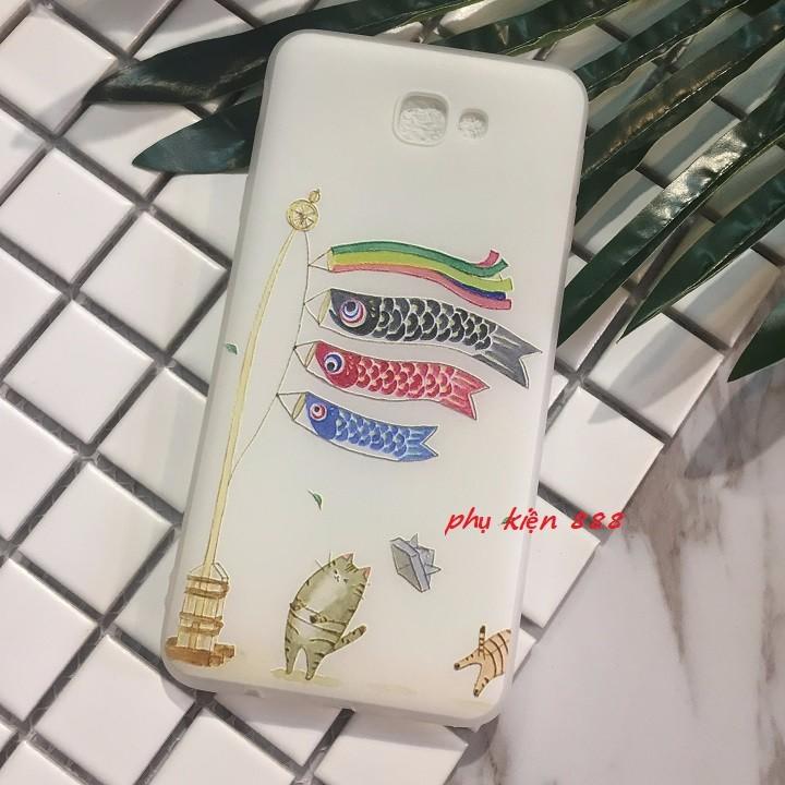 Ốp lưng dẻo Samsung Galaxy J7 Prime lồng đèn cá 5