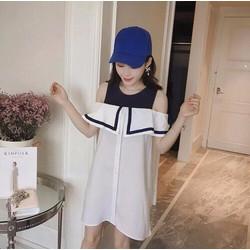 Đầm Suông Sailor Dress Thiết Kế Đặc Biệt Mới Lạ