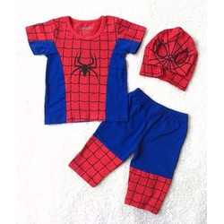 Bộ sưu tập quần áo người nhện cho bé trai :