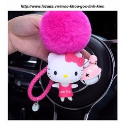 Móc Chìa Khóa Mèo Hello Kitty