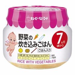 Cháo ăn dặm Kewpie 7 tháng vị củ quả tổng hợp - Hàng nội địa Nhật