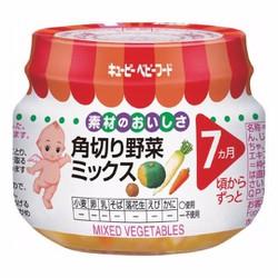 Cháo Kewpie cho bé 7 tháng vị củ tổng hợp - Hàng nội địa Nhật