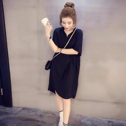 Đầm suông form rộng trẻ trung thời trang Lâm Anh