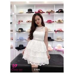 Đầm xoè ren  cực xinh