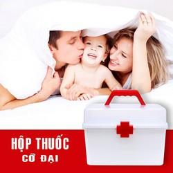 Hộp thuốc gia đình cỡ lớn tiện dụng