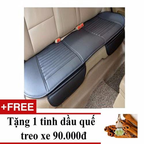 Tấm lót ghế da dùng cho băng ghế sau ô tô + Tặng 1 tinh dầu quế - 4919836 , 6794122 , 15_6794122 , 289000 , Tam-lot-ghe-da-dung-cho-bang-ghe-sau-o-to-Tang-1-tinh-dau-que-15_6794122 , sendo.vn , Tấm lót ghế da dùng cho băng ghế sau ô tô + Tặng 1 tinh dầu quế
