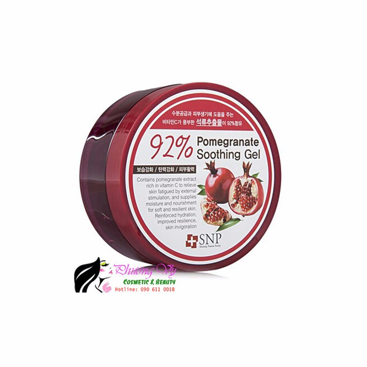 Gel dưỡng ẩm SNP chiết xuất quả lựu 92 phần trăm 2