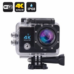 Camera hành động Waterproof 4K Sports WIFI LED 4K ULTRA HD DV