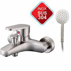 Củ Sen Nóng Lạnh Inox 304 - Vòi Sen Tắm Nóng Lạnh - Gật Gù Nóng Lạnh