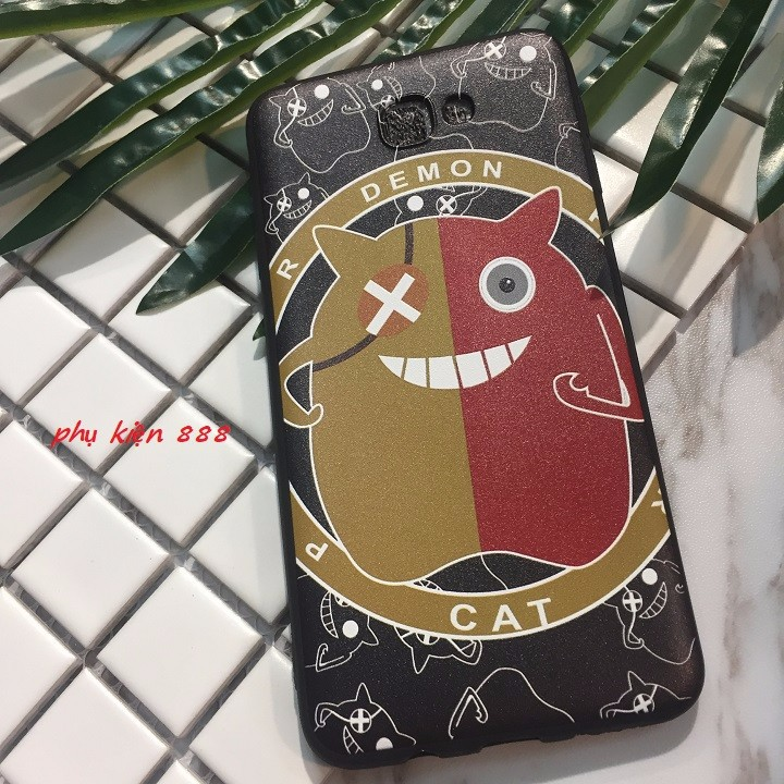 Ốp lưng dẻo Samsung J5 Prime tiểu quỷ Demon 3
