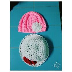 Set 2 nón len cho nữ