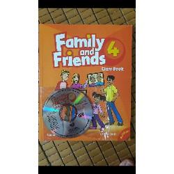Family and Friends 4 Classbook kèm CD