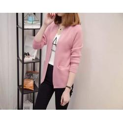 Áo khoác len cardigan xinh xắn - hàng nhập Quảng Châu