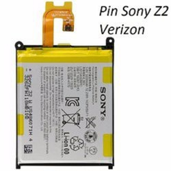 Pin Sony Z2 Verizon