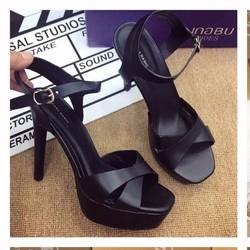giày cao gót cao 12cm 2435