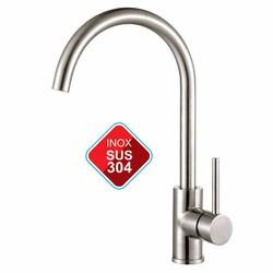 Vòi Rửa Chén Nóng Lạnh Inox 304 - Vòi Bếp Nước Nóng Lạnh SUS 304