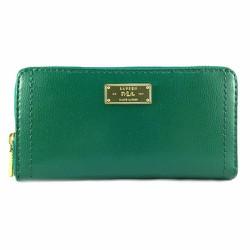 Ví Ralph Lauren Chiswell Zip Around, màu Emerald