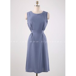 Đầm phối dây eo phong cách Hàn Quốc cho nàng xinh tươi