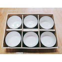 Bộ 6 chén đũa xuất Nhật có hộp đựng làm quà tặng sang trọng