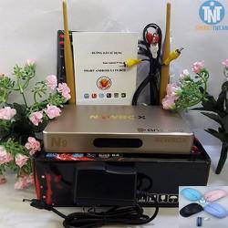 Androi TV box NEWBOX N9 RAM 2G biến tivi thường thành smart tivi